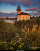 Coquille River Lighthouse at Sunset