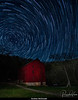 Alley Spring Mill with Star Trails