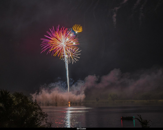 Fourth of July on Lake Miola