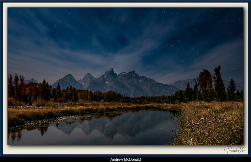 Schwabacher Landing Before Dawn