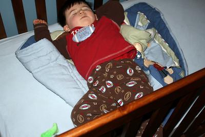 Having sweet dreams!