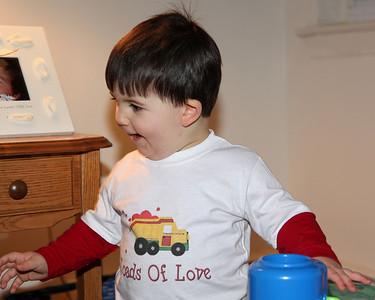 How do you like my Valentine's shirt?