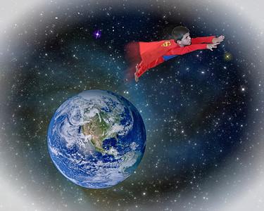 Flying Superman Jack