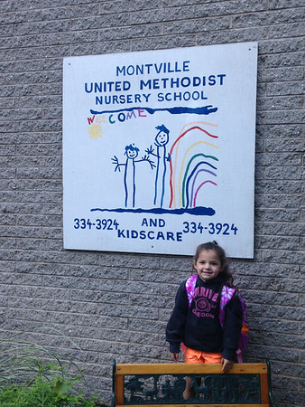 Rylie's first day at her new school