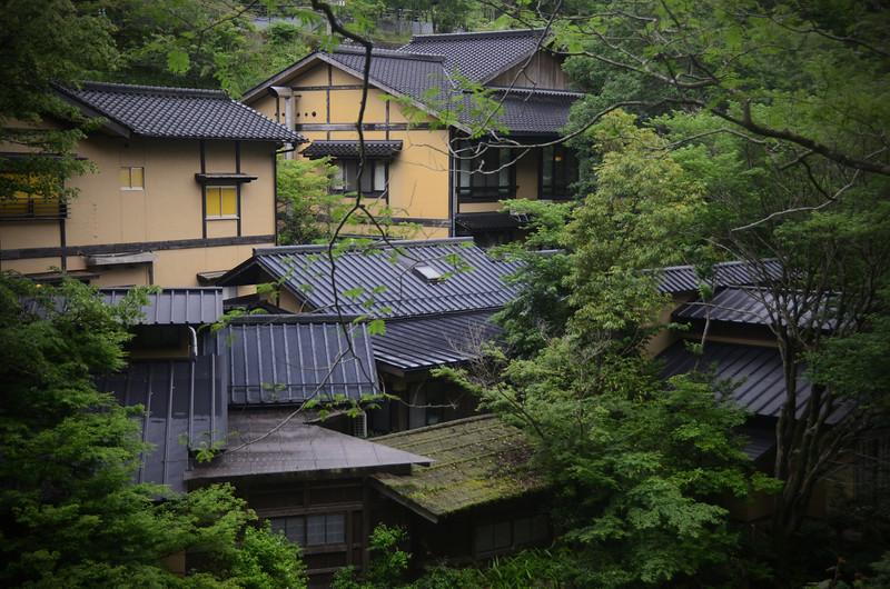 Kurokawa Onsen, a beautiful hot spring town in Central Kyushu.