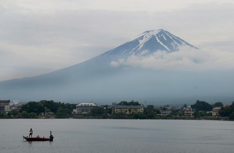 Mt. Fuji taken from Lake Kawaguchi