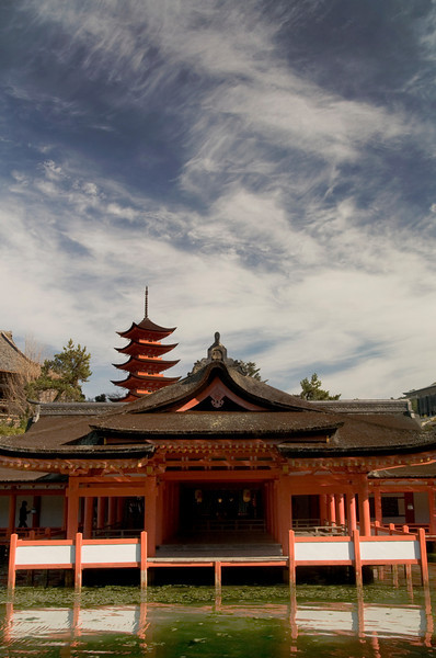 Itsukushima Shrine, Miyajima.