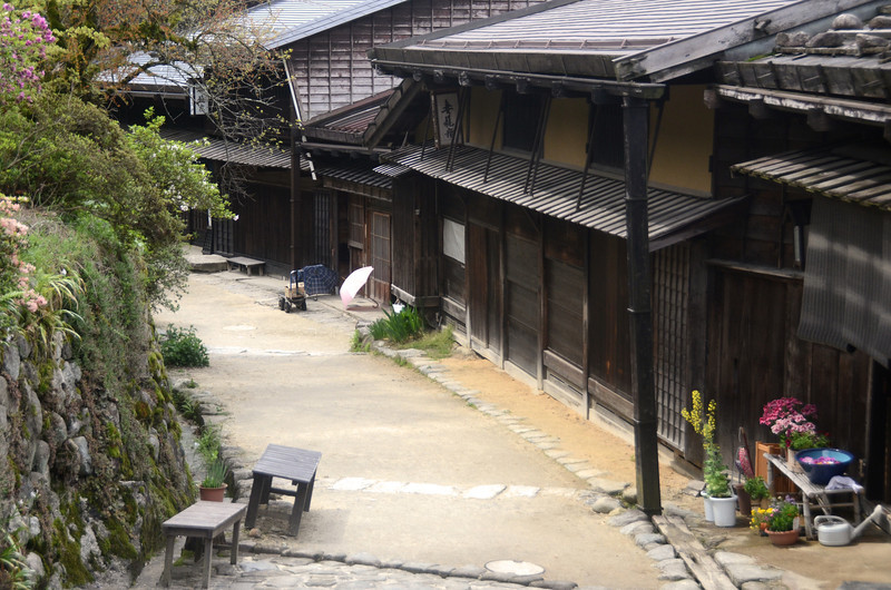 Tsumago, one of the best preserved trading towns i've visited in Japan.