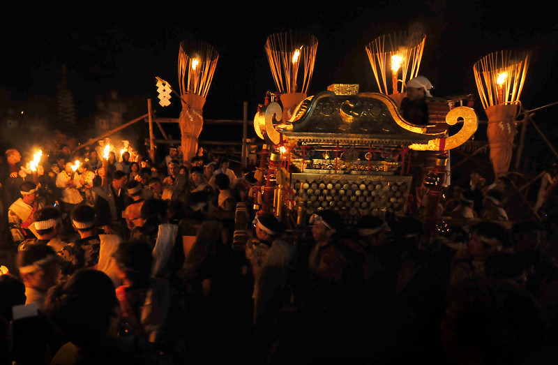 Kurama Fire Festival. October 22, 2010.
