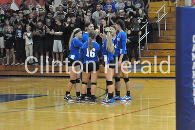 Monticello at Camanche volleyball (9-1-16)