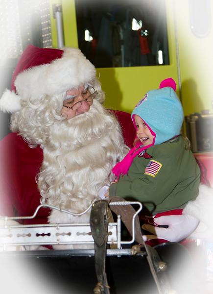 2014 Santa In Monticello
