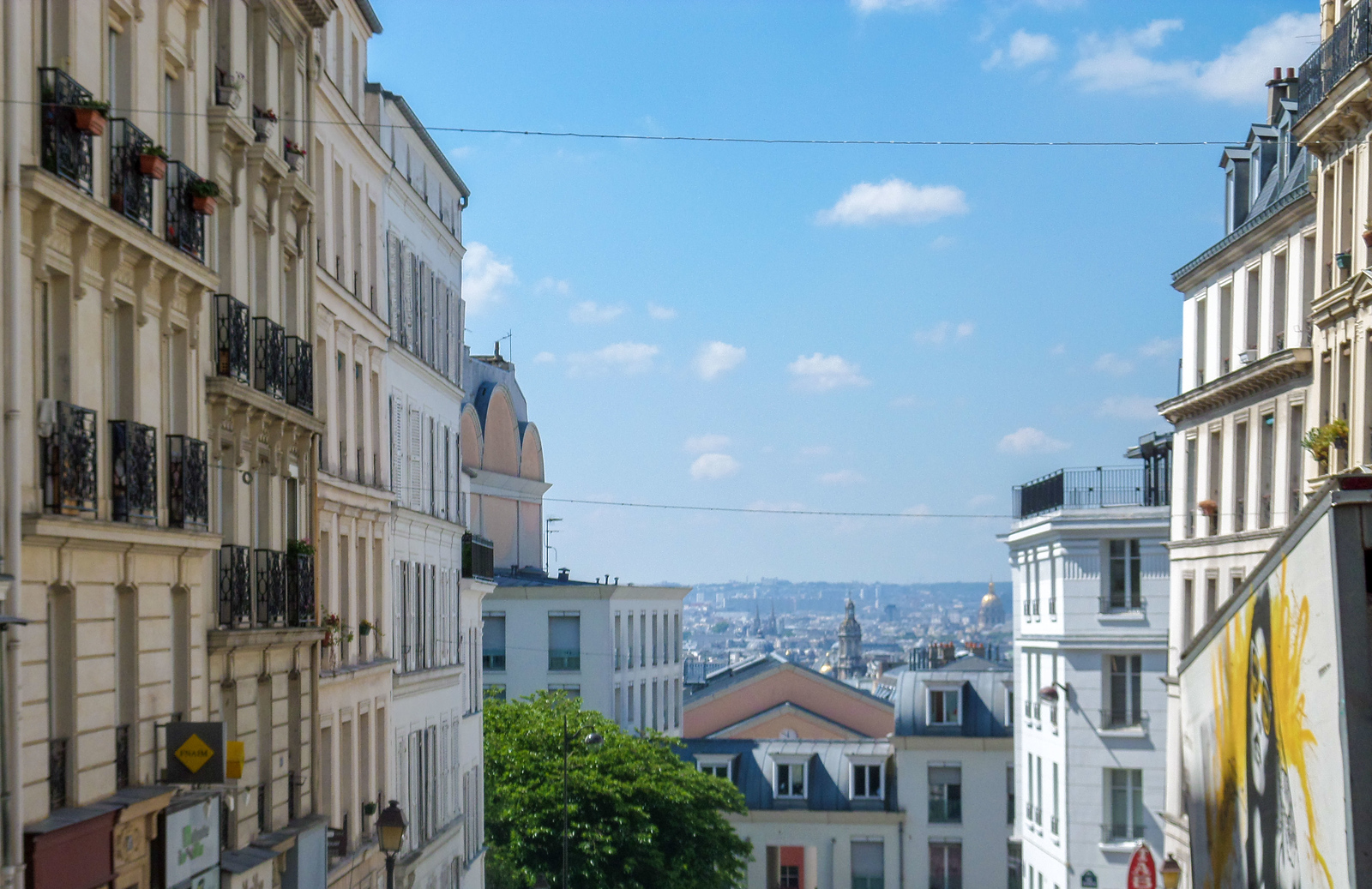 Montmartre for the best views of Paris.