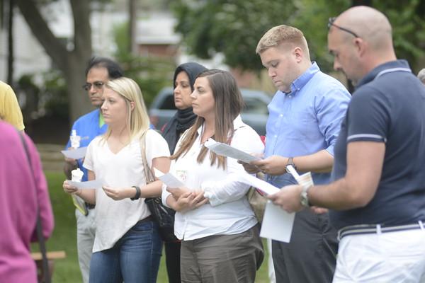 Vigil for Orlando in Danville