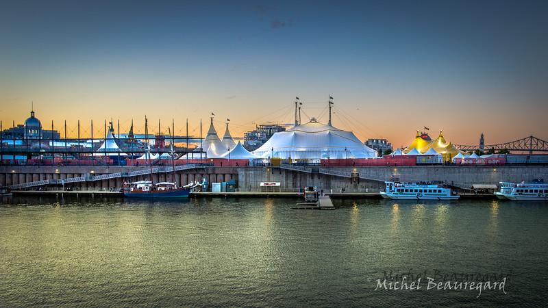 Cirque du soleil, vieux port