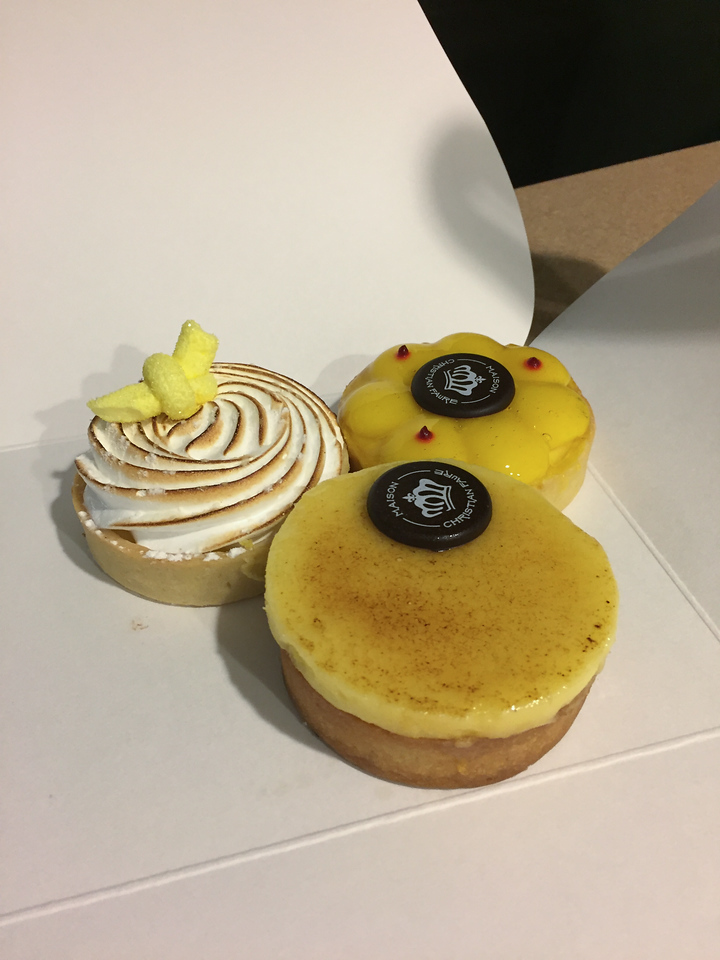 Very delicous pastries from Maison Christian Faure