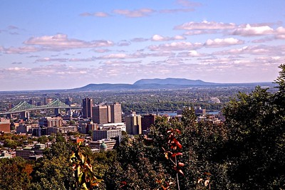 Downtown Montreal as Seen From Mount Royal