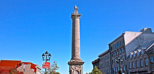 The famous Montreal Nelson Column