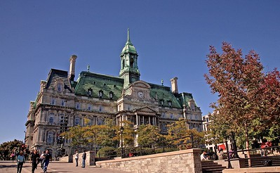 Montreal City Hall,