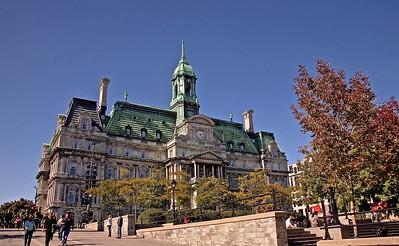 Montreal City Hall,