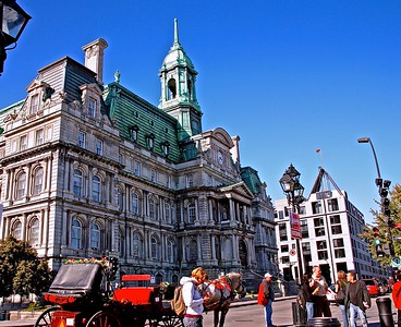 The Beautiful Montreal City Hall