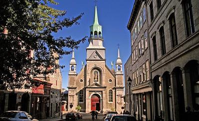 The Notre-Dame-de-Bon-Secours Chapel in Old Montreal