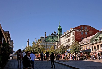 Place Jacques-Cartier on a summer afternoon