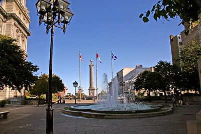 Place Jacques-Cartier in Montreal