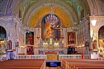 The Beautiful Notre-Dame-de-Bon-Secours Chapel