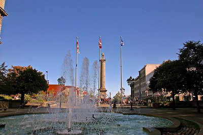 The Place Jacques Cartier in Montreal