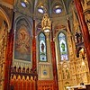 The Sanctuary Lamp in St. Patrick's Basilica  in Montreal