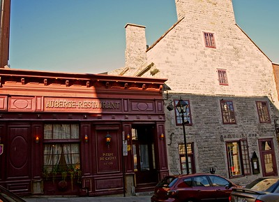 Auberge Restaurant in Old Montreal