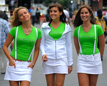 Bud Light Lime Girls, Crescent St. Montreal