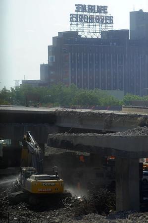 Montreal Highway 10 Destruction