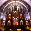 Notre-Dame Basilica interior.