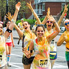 The 2015 Color Me Rad 5K Color Race - Fun Girls 26496 26497 39400