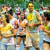 The 2015 Color Me Rad 5K Color Race - runners 26439 27077 27079