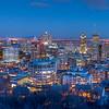 Dusk, Montreal Skyline