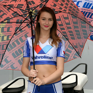 Spa Valvoline grid girls 10