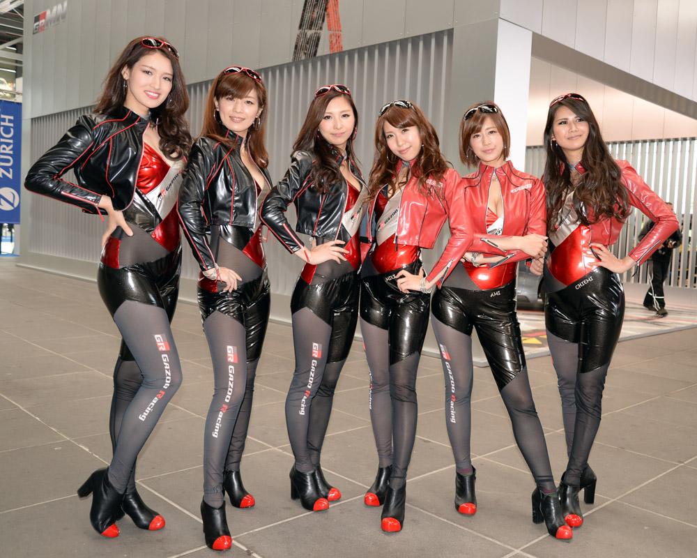 Nurburgring Japanese pit babes 06