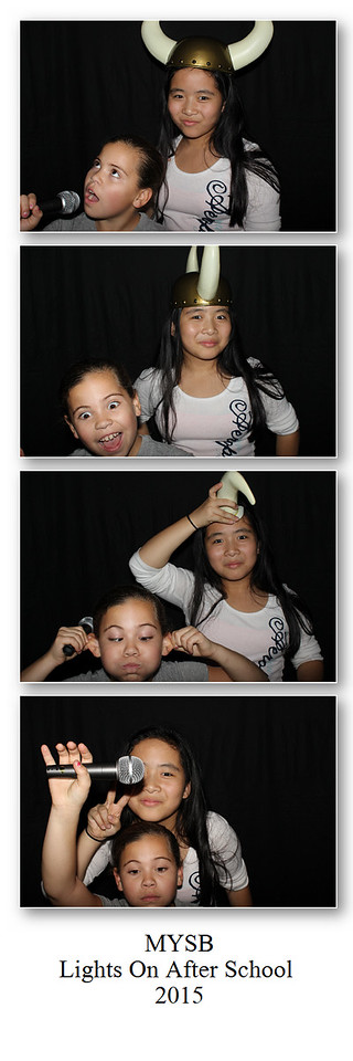 Montville Youth Center Photo Booth 2015
