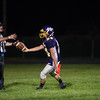Tyler Popp hands the ball to the ref after he makes his way into the end zone for the Bulldogs second touchdown of Friday nights loss at home against Blackstone Valley. Sentinel & Enterprise photo/Jeff Porter