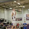 Montachusett Regional Vocational Technical School boys basketball played Assabet Valley on Thursday night, Jan. 9, 2020 in Fitchburg. Monty Tech's #25 Connor Brassard puts up an outside shot. SENTINEL & ENTERPRISE/JOHN LOVE