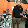 Montachusett Regional Vocational Technical High School in Fitchburg held a ribbon cutting ceremony for their new Automation, robotics, and Mechatronics Lab on Tuesday, Oct. 22, 2019. After the ribbon cutting Lt. Gov. Karyn Polito took a tour of the lab. Here she chats with senior Tim Wade about the lab. SENTINEL & ENTERPRISE/JOHN LOVE