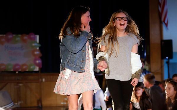 Monument Elementary celebrates fashion friday. 031017