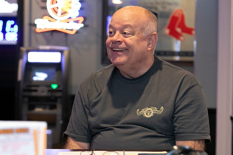 Owner of The Monument Tap in Leominster Mike Cooley talks about putting his place up for sale Tuesday morning, Jan. 14, 2020. SENTINEL & ENTERPRISE/JOHN LOVE