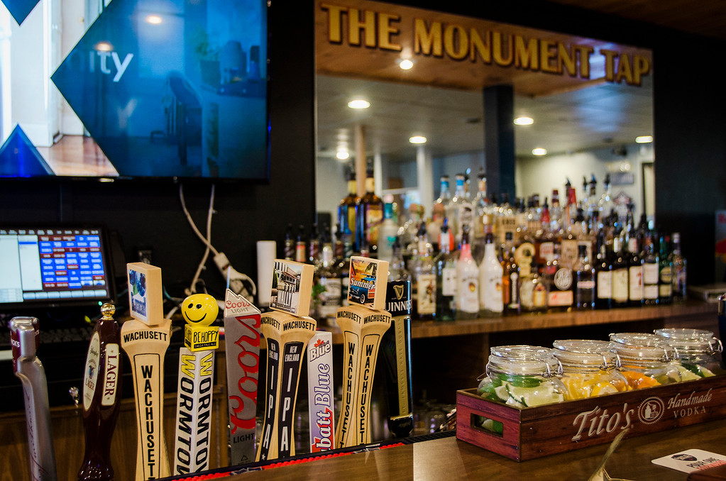 . The Monument Tap, formerly The Tankard,  has been purchased and rennovated by Leominster\'s Mike Cooley. SENTINEL & ENTERPRISE / Ashley Green