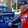 Veterans shaking hands