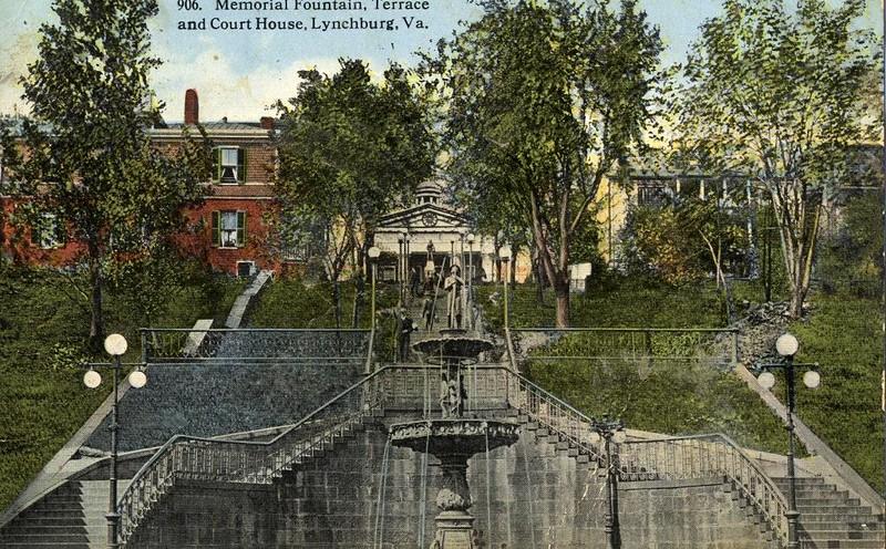 Postcard Fireman's Fountain (05077)