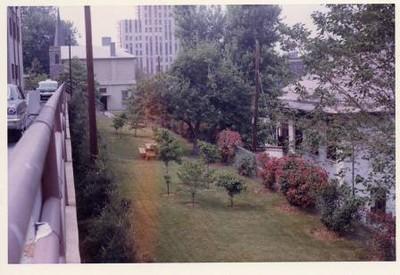 Colored Photograph of Mr. Elder's Garden IX (02059)