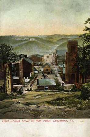 Ninth Street in Civil War Times Postcard (03332)